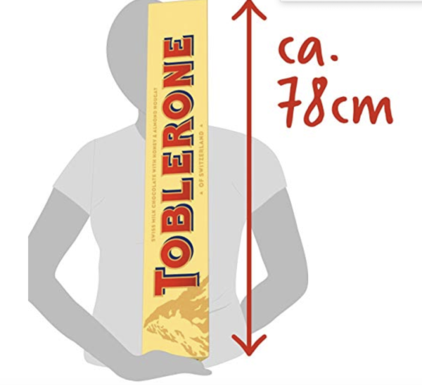 giant 4.5 kg toblerone for sale