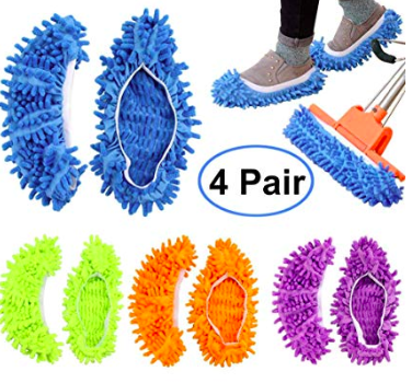 mop slippers. Mops on your feet