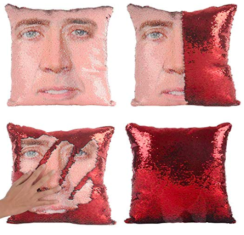 Sequence Nicolas Cage Pillow Case