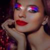 LED light up false eyelashes