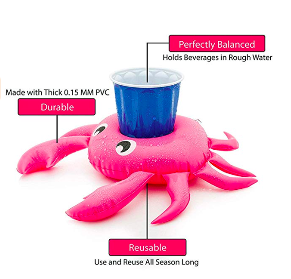 crab pool drink float