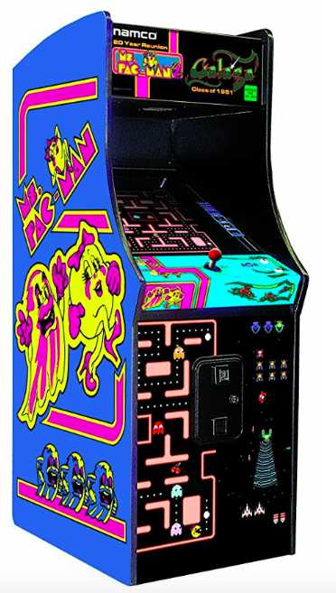 Mrs Pac-man arcade game