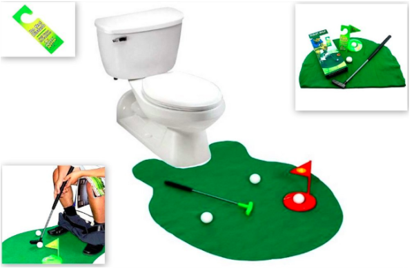 Toilet Mini Golf