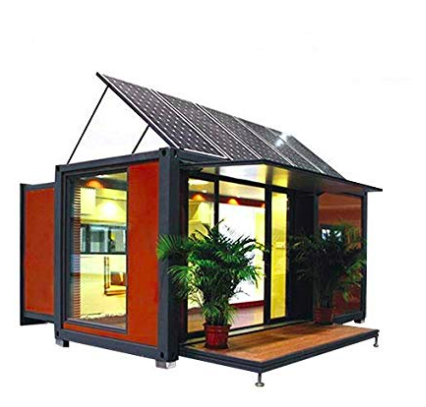Shipping container Home for Sale: Solar Energy Panels!