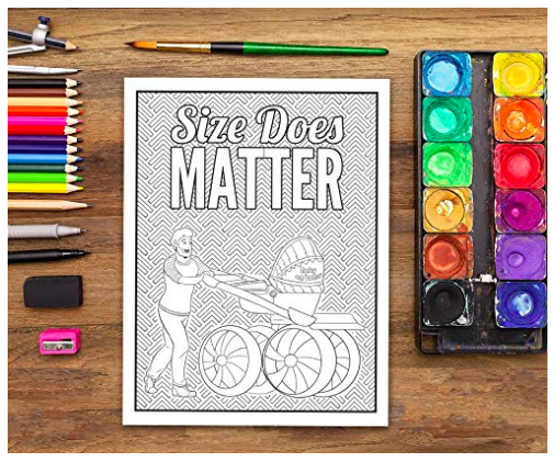 dad coloring book