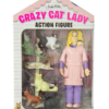 crazy cat lady box action figure