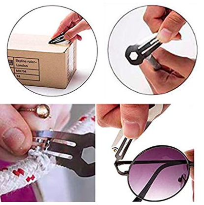 hair clip multi tool