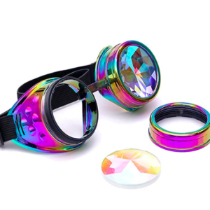 rave kaleidoscope glasses