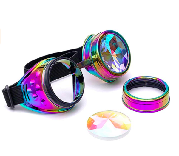 rave kaleidoscope glasses