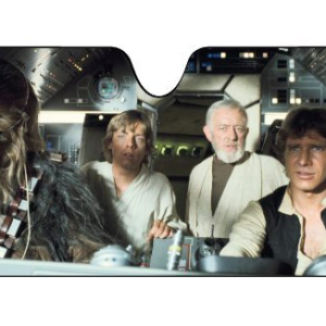 star wars windshield sun shade
