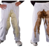 poop stained pants