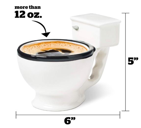 toilet bowl coffee mug