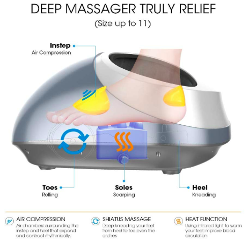 electric foot warmer massager