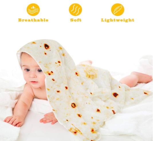 baby burrito wrap blanket