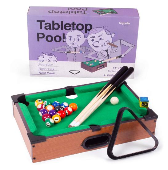 mini pool table for desk