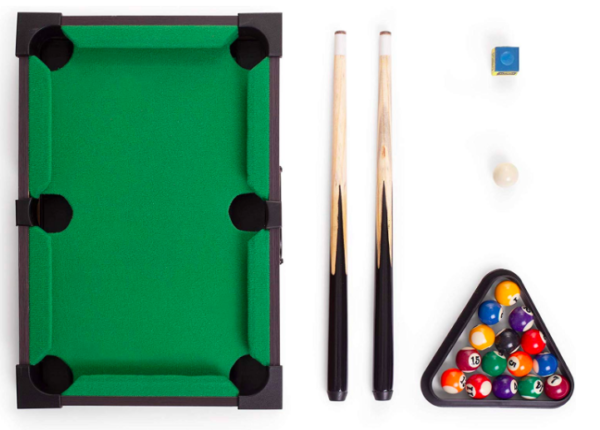 mini pool table for desk