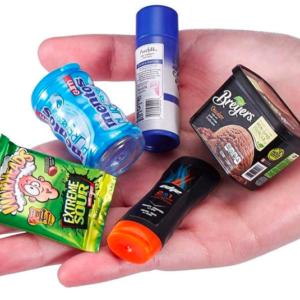 mini grocery items