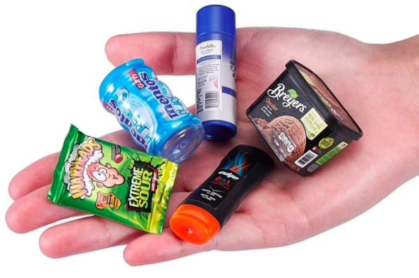 mini grocery items