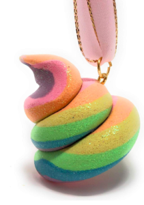 Unicorn poop - funny Christmas tree ornaments