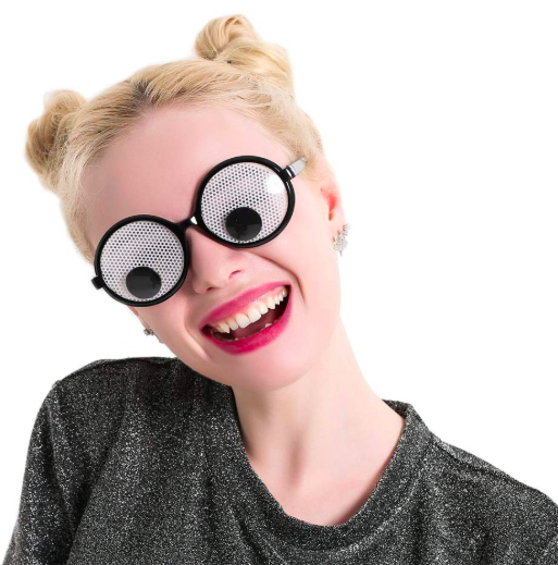 googly eye glasses