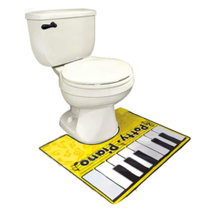 toilet piano mat