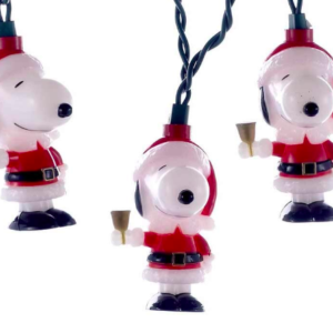 snoopy christmas lights