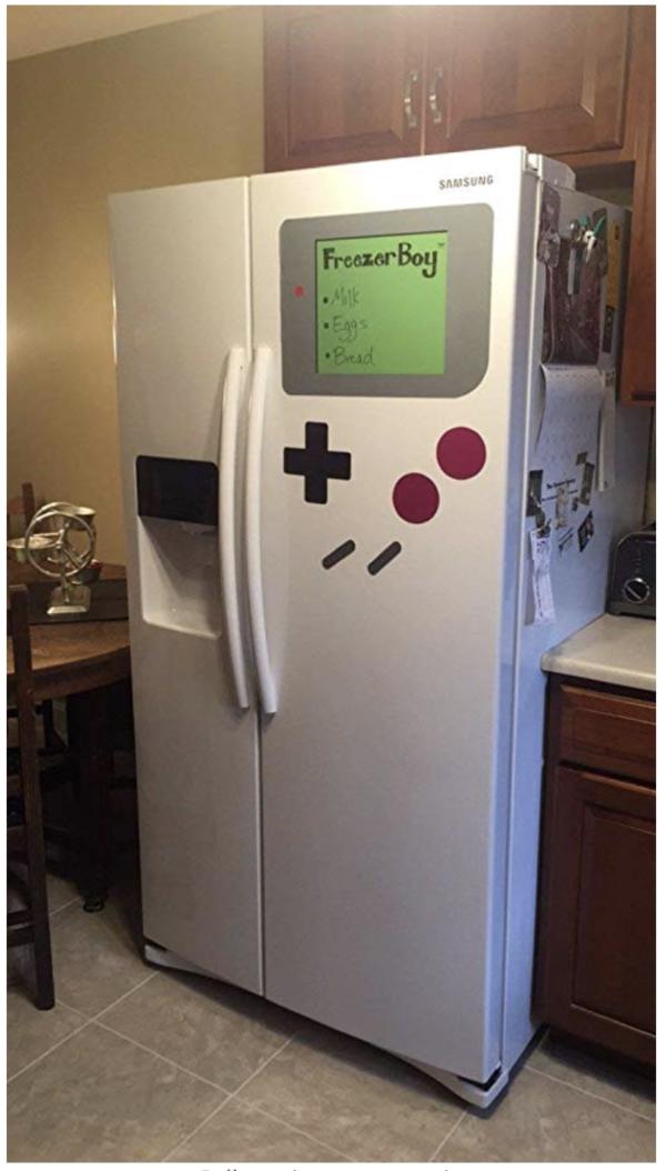 gameboy fridge