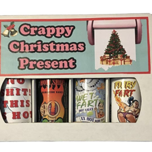 Crappy christmas present Hot sauce box
