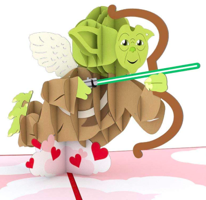 Yoda Valentines Day Card
