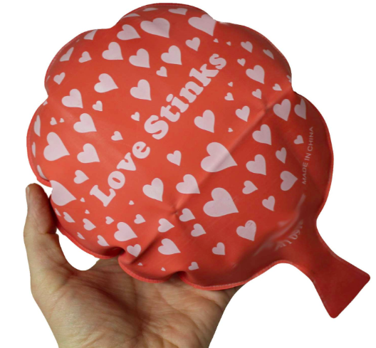 Hearts Rubber Whoopee Cushion