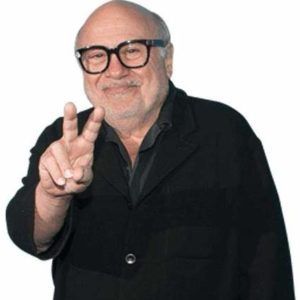 Cutout of Danny DeVito