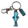 mr meeseeks keychain - rick and morty exclusive