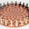 3 man chess board